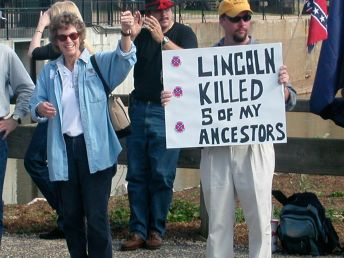 Lincoln Killed my Ancestors