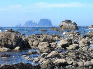 Rocks Ozette Beach edited