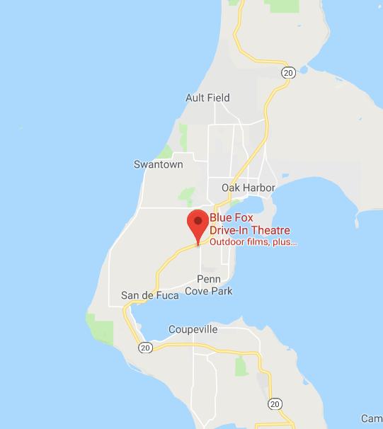 Blue Fox Drive-In Google map